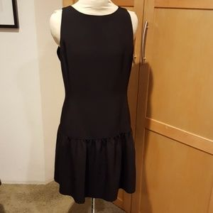 Drop Waist Black Dress sz 10